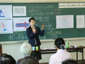 江南市高齢者教室草井講義中