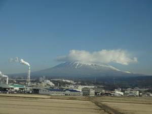 2015年2月20日富士山